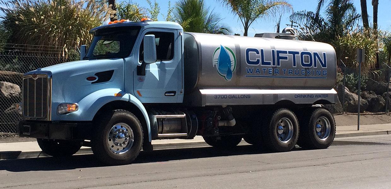 Clifton Water Truck