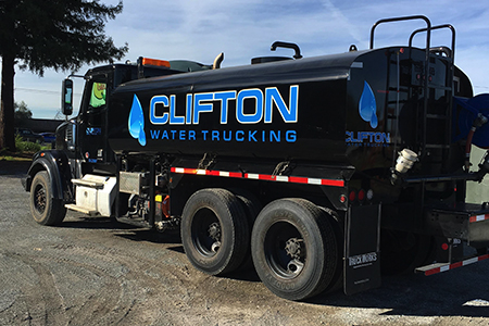 Clifton Water truck